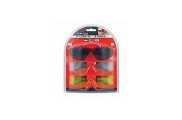 1-Radians Explorer Shooting Glasses - 3 Pack