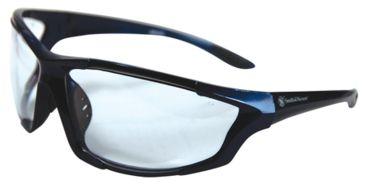 Radians S&W SW102 Performance Eyewear Clear Lens Gloss Blue Frame