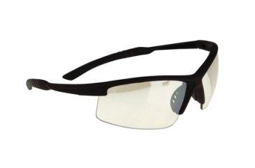 Radians S&W SW104 Performance Eyewear Indoor/Outdoor Lens Black Half-Frame
