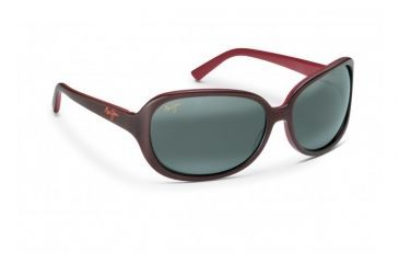 eaec53cc95472 Maui Jim Rainbow Falls Sunglasses w  Dusty Rose   Red Frame and Neutral  Grey Lenses