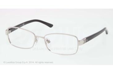 Ralph Lauren DECO EVOLUTION RL5079 Progressive Prescription Eyeglasses 9001-52 - Shiny Silver Frame