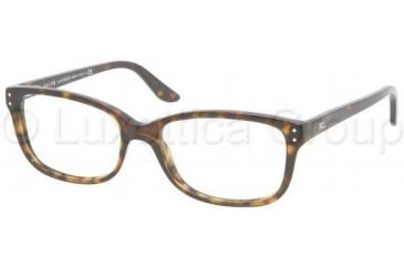 Ralph Lauren Eyeglasses RL6062 with Rx Prescription Lenses 5003-5416 - Dark Havana
