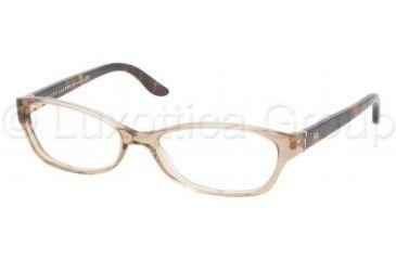 Ralph Lauren Eyeglasses RL6068 with Rx Prescription Lenses 5217-5315 - Mud Transparent
