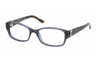 Ralph Lauren RL 6056 Eyeglasses Styles - Blue Sea Transparent Frame w/Non-Rx 51 mm Diameter Lenses, 5276-5116