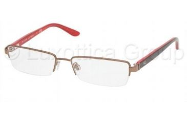 Ralph Lauren RL5065 Single Vision Prescription Eyewear 9155-4916 - Brown