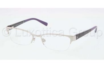 Ralph Lauren RL5078 Single Vision Prescription Eyeglasses 9030-5117 - Silver Frame