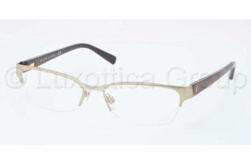Ralph Lauren RL5078 Single Vision Prescription Eyeglasses 9229-5117 - Pale Gold Frame