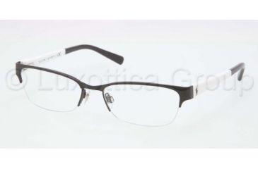 Ralph Lauren RL5078 Single Vision Prescription Eyeglasses 9230-5117 - Matte Black Frame