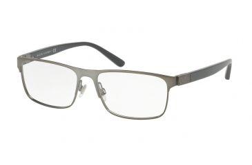 4456e7c7765 Ralph Lauren RL5095 Eyeglass Frames 9157-56 - Matte Dark Gunmetal Frame