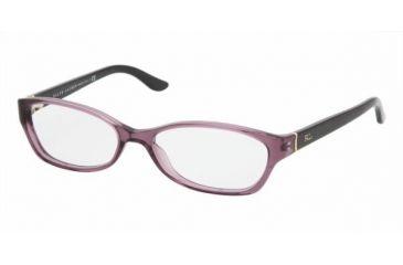 Ralf Lauren RL6068 #5158 - Violet Transparent Frame, Demo Lens Lenses