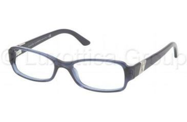 Ralph Lauren RL6075 Single Vision Prescription Eyeglasses 5276-5016 - Blue / Transparent Frame