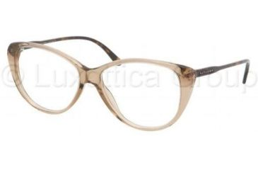 Ralph Lauren RL6083 Single Vision Prescription Eyeglasses 5217-5114 - Mud Transparent Frame