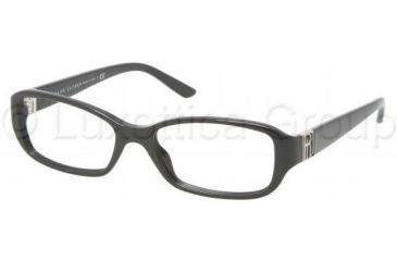 Ralph Lauren RL6085 Single Vision Prescription Eyeglasses 5001-5216 - Black Frame