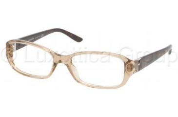 Ralph Lauren RL6085 Eyeglass Frames 5217-5216 - Mud Transparent Frame