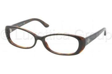 Ralph Lauren RL6089 Eyeglass Frames 5260-5315 - Black / Havana Frame
