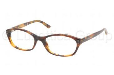 Ralph Lauren RL6091 Bifocal Prescription Eyeglasses 5357-5116 - Tortoise Frame, Demo Lens Lenses
