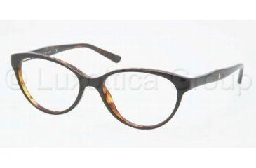 Ralph Lauren RL6093 Progressive Prescription Eyeglasses 5260-5216 - Black / Havana Frame