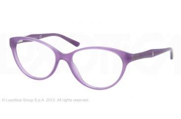 Ralph Lauren RL6093 Progressive Prescription Eyeglasses 5337-54 - Violet Opal Frame, Demo Lens Lenses