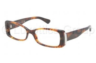 Ralph Lauren RL6096 Prescription Eyeglasses 5017-5316 - JL Havana Frame, Demo Lens Lenses