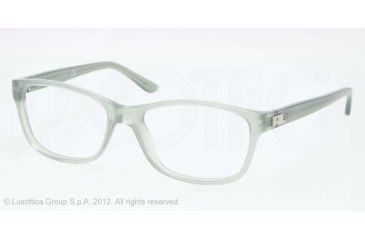 Ralph Lauren RL6101 Progressive Prescription Eyeglasses 5334-52 - Sea Green Frame, Demo Lens Lenses