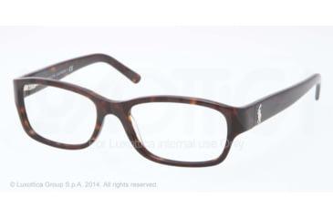 Ralph Lauren RL6103 Progressive Prescription Eyeglasses 5003-51 - Dark Havana Frame