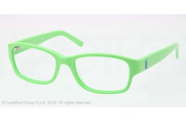 Ralph Lauren RL6103 Progressive Prescription Eyeglasses 5414-51 - Acid Green Frame, Demo Lens Lenses