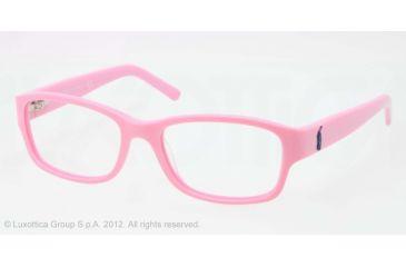 Ralph Lauren RL6103 Progressive Prescription Eyeglasses 5415-51 - Pink Frame, Demo Lens Lenses