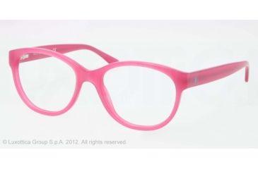 Ralph Lauren RL6104 Progressive Prescription Eyeglasses 5411-50 - Pink Frame, Demo Lens Lenses