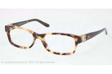 Ralph Lauren RL6106Q Progressive Prescription Eyeglasses 5004-51 - Havana Spotty Frame, Demo Lens Lenses
