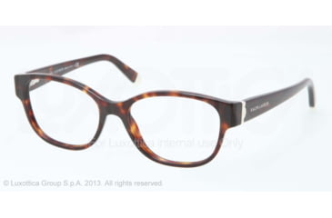 Ralph Lauren RL6112 Eyeglass Frames 5003-52 - Dark Havana Frame