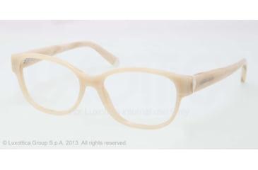 Ralph Lauren RL6112 Eyeglass Frames 5305-52 - Shiny Cream Horn Frame