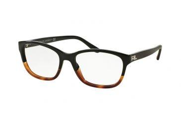 1e84a372a4 Ralph Lauren RL6140 Eyeglass Frames 5581-52 - Black Gradient Havana Frame