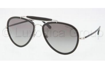Ralph Lauren RL7038W Bifocal Prescription Sunglasses RL7038W-91783C-5718 - Lens Diameter 57 mm, Frame Color Silver / Black