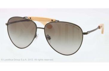 Ralph Lauren RL7044 Progressive Prescription Sunglasses RL7044-90058E-59 - Lens Diameter 59 mm, Lens Diameter 59 mm, Frame Color Matte Olive Green