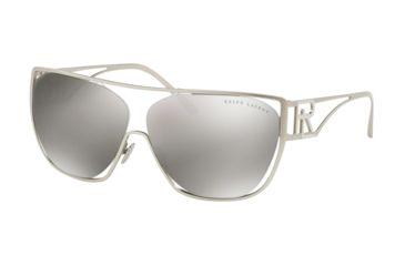 bd3c8489cd62 Ralph Lauren RL7063 Sunglasses 90016G-64 - Matte Silver Frame, Gray Silver  Mirror Lenses
