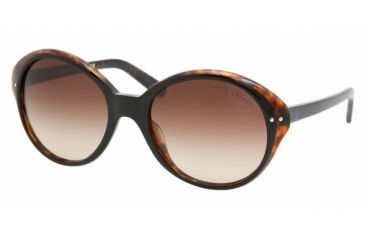 Ralf Lauren RL8069 #526013 - Top Black-Havana Brown Gradient Frame