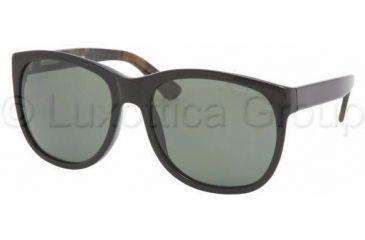 Ralph Lauren RL8072W Sunglasses 524752-5619 - Black Crystal Green