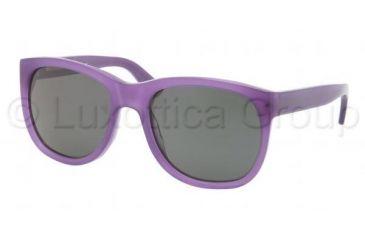 Ralph Lauren RL8072W Sunglasses 5337R5-5619 - Opalin Violet Frame, Crystal MG Gray Lenses