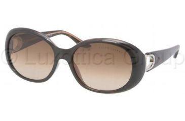 Ralph Lauren RL8074 Progressive Prescription Sunglasses RL8074-517513-5616 - Lens Diameter 56 mm, Frame Color Dark Havana