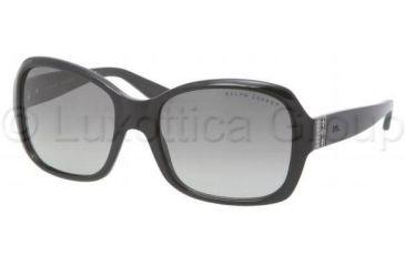 Ralph Lauren RL8075B Bifocal Prescription Sunglasses RL8075B-500111-5518 - Frame Color Black, Lens Diameter 55 mm