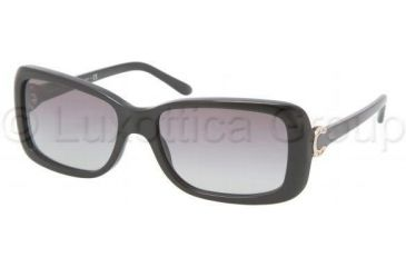 Ralph Lauren RL8078 Progressive Prescription Sunglasses RL8078-500111-5516 - Lens Diameter 55 mm, Frame Color Black