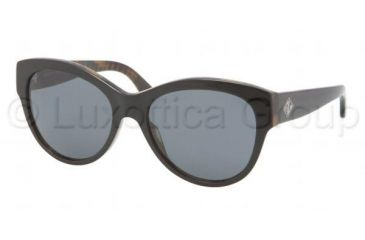 Ralph Lauren RL8089 Sunglasses 526071-5417 - Top Black Havana Frame, Gray Lenses
