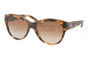 Ralph Lauren RL8089 Single Vision Prescription Sunglasses RL8089-535113-5417 - Lens Diameter 54 mm, Frame Color Havana