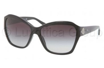 Ralph Lauren RL8095B Sunglasses 500111-5815 - Black Frame, Gray Gradient Lenses
