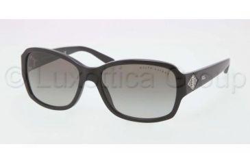 Ralph Lauren RL8102B Sunglasses 500111-5716 - Black Frame, Grey Gradient Lenses