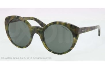 Ralph Lauren RL8104W Sunglasses 543652-52 - Camouflage Frame, Grey Green Lenses