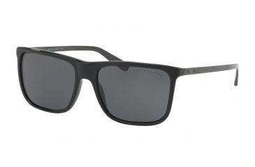 3ad2a5c8572 Ralph Lauren RL8157 Sunglasses 500187-58 - Black Frame