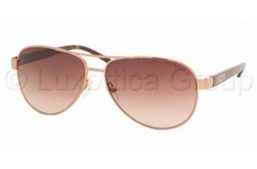 Ralph RA 4004 Sunglasses Styles - Brown/Tortoise Brown Gradient Frame, 104-13-5913