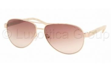a2689cac1b Ralph RA4004 SV Prescription Sunglasses - Gold Cream Brown Gradient Frame    59 mm Prescription