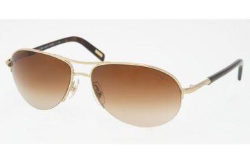 Ralph RA 4060 Sunglasses Styles Gold/Cream Frame / Brown Gradient Lenses, 101-13-5915